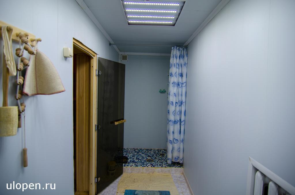 Душевая в сауне. Продаётся дом в Симферополе