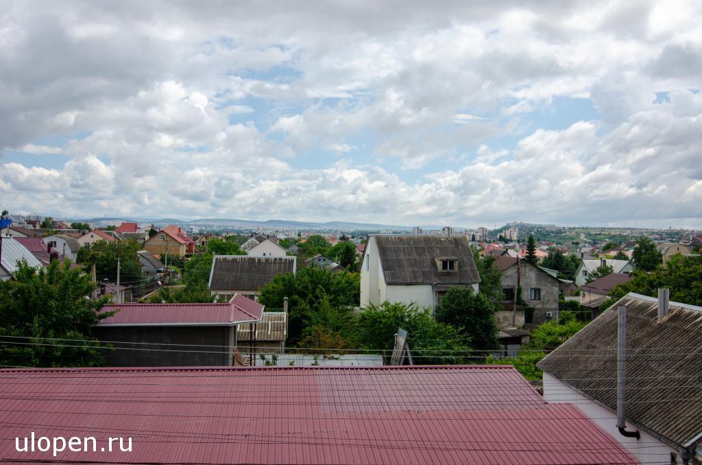 Вид с балкона 2 этажа дома. Продам дом, Симферополь